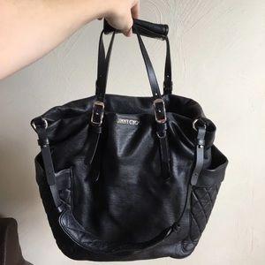 Authentic Jimmy Choo Leather Shoulder Bag